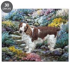 Welsh Springer Spaniel Art Puzzle
