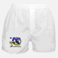 DS Peace Love Hug 2 Boxer Shorts