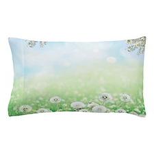 Dandelion Field Pillow Case