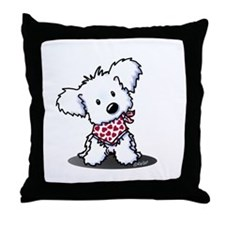 Cutie Pie Maltese Throw Pillow