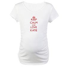 Keep Calm and Love Katie Shirt