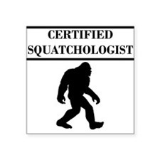 Certified Squatchologist Sticker