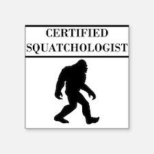 Certified Squatchologist Sticker