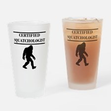 Certified Squatchologist Drinking Glass