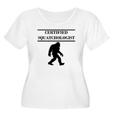 Certified Squatchologist Plus Size T-Shirt