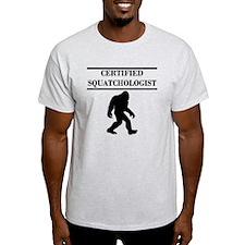 Certified Squatchologist T-Shirt