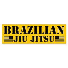 Brazilian Jiu Jitsu (bumper) Bumper Bumper Sticker