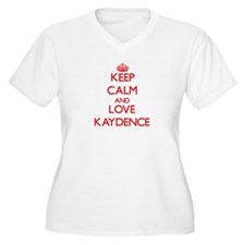 Keep Calm and Love Kaydence Plus Size T-Shirt