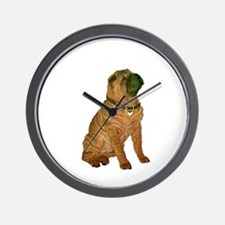 SharPei (#1) Wall Clock