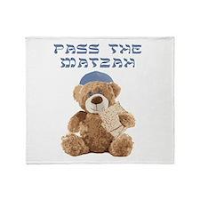Pass the Matzah Throw Blanket