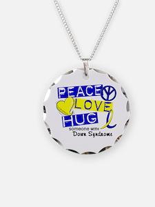 DS Peace Love Hug 1 Necklace