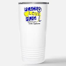 DS Peace Love Hug 1 Travel Mug