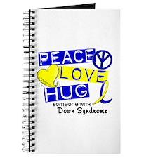 DS Peace Love Hug 1 Journal