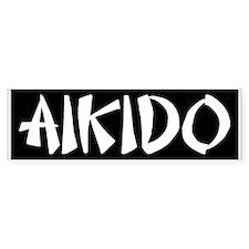 Aikido (bumper) Bumper Bumper Sticker