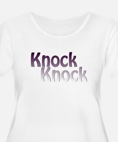 knock knock Plus Size T-Shirt
