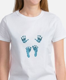 blue baby hands and feet T-Shirt