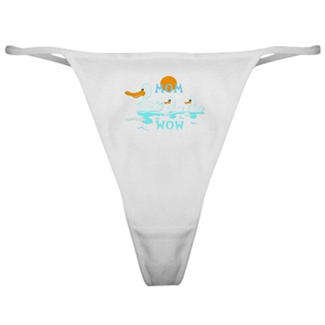 MOM WOW Reflection Mothers Day Classic Thong