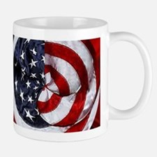 Swirling Flag Mugs