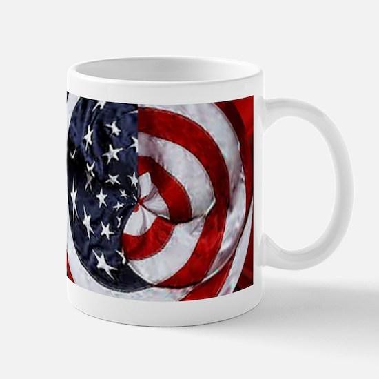 Swirling Flag Mugs