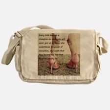child's champion Messenger Bag