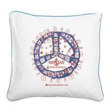 Stand Up For Peace Square Canvas Pillow