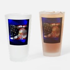 Double Eagle Drinking Glass