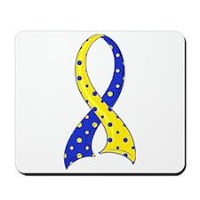 DS Polka Dot Ribbon Mousepad