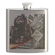 SQU Train Collage Flask