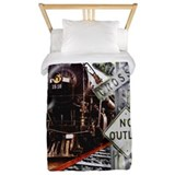 Train Twin Duvet Covers