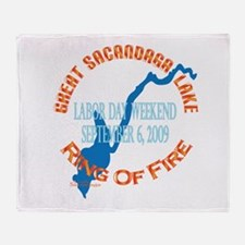 Ring Of Fire 2009 Throw Blanket