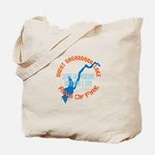 Ring Of Fire 2009 Tote Bag