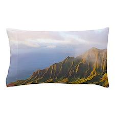 Kalalau Valley Sunset Hawaii Tropical Pillow Case