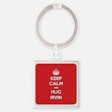 Hug Irvin Keychains