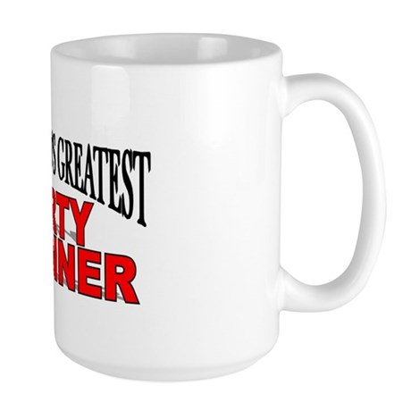 """The World's Greatest Party Planner"" Large Mug"