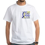 Down syndrome awareness Mens White T-shirts
