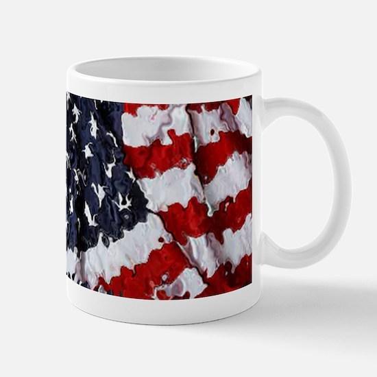 Painted Flag Mugs