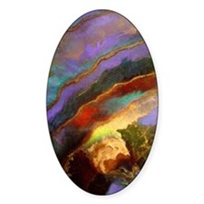 Abalone Sunset Decal