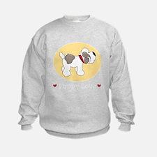 PuppyLoveRedDkT Sweatshirt