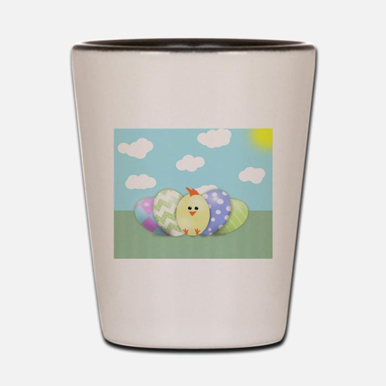 Easter Chick (sb) Shot Glass