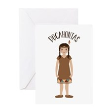 Pocahontas Greeting Cards