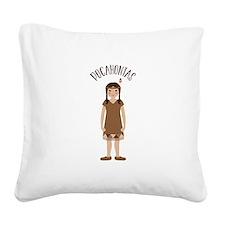 Pocahontas Square Canvas Pillow