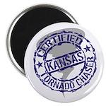 Kansas Tornado Chaser Magnet