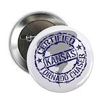 Kansas Tornado Chaser Button