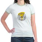 Kansas Tornado Chaser Jr. Ringer T-Shirt