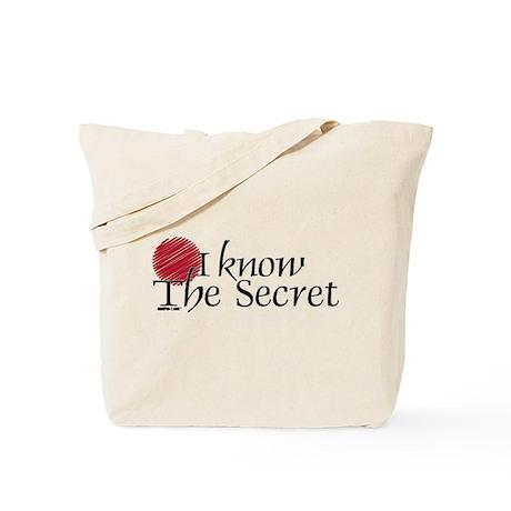 I Know The Secret Tote Bag