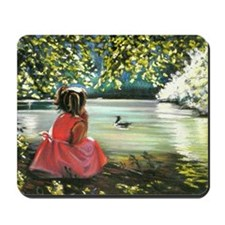 Under the trees Mousepad