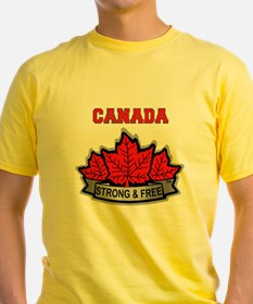 Canadian Pride STRONG & FREE T-Shirt