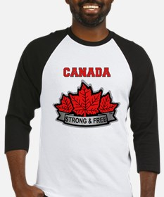Canadian Pride STRONG & FREE Baseball Jersey