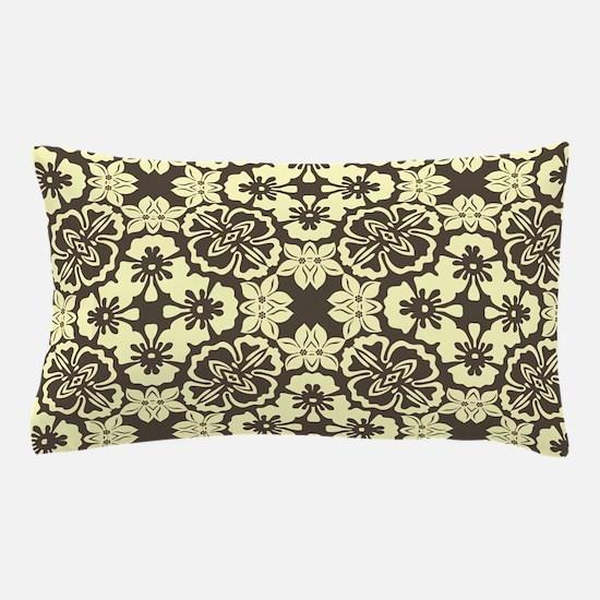 Vintage Floral Pattern Pillow Case