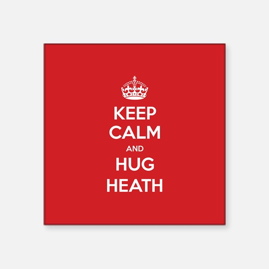Hug Heath Sticker